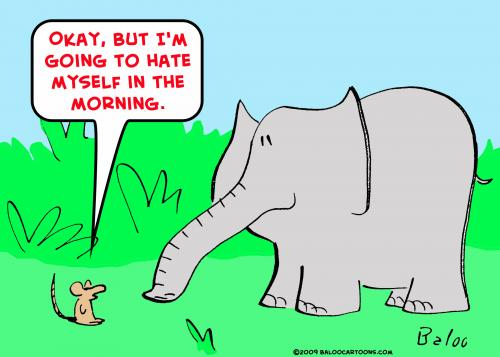 Cartoon: mouse elephant sex (medium) by rmay tagged mouse,elephant