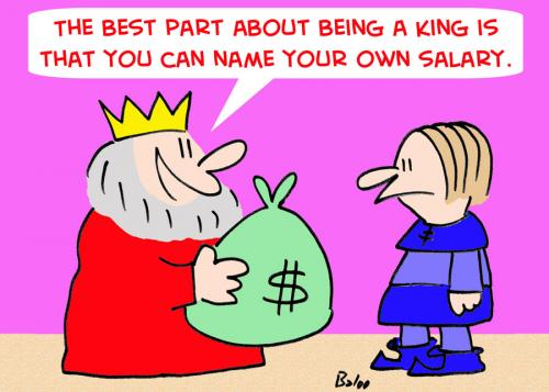 Cartoon name your own salary king medium by rmay tagged name your