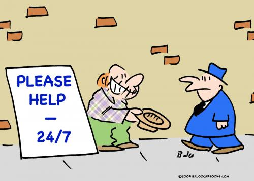 Cartoon please help 24 7 medium by rmay tagged please help 24