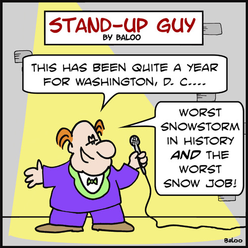 Cartoon: SUG worst snow job washington (medium) by rmay tagged sug,worst,snow,job,washington