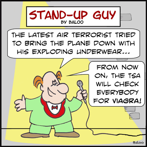 Cartoon: SUGeverybody tsa terrorist (medium) by rmay tagged sugeverybody,tsa,terrorist