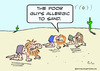 Cartoon: allergic sand desert crawlers (small) by rmay tagged allergic,sand,desert,crawlers