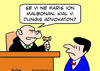 Cartoon: anything wrong why hire lawyer (small) by rmay tagged anything,wrong,why,hire,lawyer,esperanto