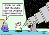 Cartoon: astronomer universe expanding (small) by rmay tagged astronomer,universe,expanding