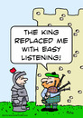 Cartoon: bagpipe king easy listening (small) by rmay tagged bagpipe,king,easy,listening