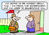 Cartoon: bamboozle you government from (small) by rmay tagged bamboozle,you,government,from