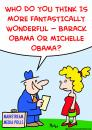 Cartoon: Barack Obama Michelle polls (small) by rmay tagged barack,obama,michelle,polls