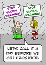 Cartoon: before frostbite global warming (small) by rmay tagged before,frostbite,global,warming
