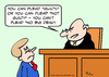 Cartoon: big deal no plead judge (small) by rmay tagged big,deal,no,plead,judge