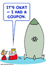 Cartoon: bomb coupon king queen (small) by rmay tagged bomb,coupon,king,queen