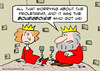 Cartoon: bourgeoisie king queen dungeon (small) by rmay tagged bourgeoisie,king,queen,dungeon
