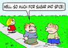 Cartoon: boy girl beat up sugar and spice (small) by rmay tagged boy,girl,beat,up,sugar,and,spice