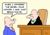Cartoon: bribe judge polite (small) by rmay tagged bribe,judge,polite
