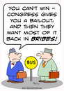 Cartoon: bribes bailout congress business (small) by rmay tagged bribes,bailout,congress,business