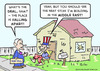 Cartoon: Building in the Middle East (small) by rmay tagged building,in,the,middle,east