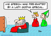 Cartoon: by lady godiva special king quee (small) by rmay tagged by,lady,godiva,special,king,quee