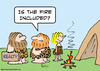 Cartoon: cave fire included realty (small) by rmay tagged cave fire included realty