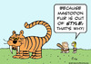Cartoon: caveman tiger out of style why (small) by rmay tagged caveman,tiger,out,of,style,why