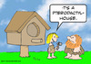 Cartoon: cavewoman pterodactyl house (small) by rmay tagged cavewoman,pterodactyl,house