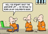 Cartoon: childrens book prisoner criminal (small) by rmay tagged childrens,book,prisoner,criminal