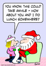 Cartoon: christmas do lunch somewhere (small) by rmay tagged christmas,do,lunch,somewhere