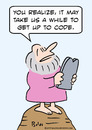 Cartoon: code commandments moses god (small) by rmay tagged code,commandments,moses,god