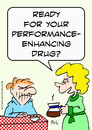 Cartoon: Coffee performance enhancing dru (small) by rmay tagged coffee,performance,enhancing,dru