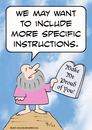 Cartoon: commandments moses specific (small) by rmay tagged commandments,moses,specific