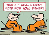 Cartoon: cons cell vote you either (small) by rmay tagged cons,cell,vote,you,either