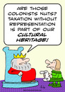 Cartoon: cultural heritage taxation witho (small) by rmay tagged cultural,heritage,taxation,witho