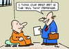 Cartoon: defense lawyer evil twin (small) by rmay tagged defense,lawyer,evil,twin
