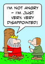 Cartoon: disappointed king burn stake (small) by rmay tagged disappointed,king,burn,stake
