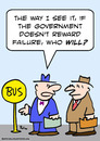 Cartoon: doesnt reward failure government (small) by rmay tagged doesnt,reward,failure,government