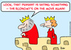 Cartoon: eating economy king (small) by rmay tagged eating,economy,king