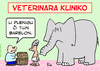 Cartoon: elephant fill barrel esperanto (small) by rmay tagged elephant,fill,barrel,esperanto