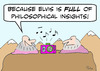 Cartoon: elvis philosophical insights gur (small) by rmay tagged elvis,philosophical,insights,gurus,boom,box