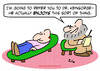 Cartoon: enjoys psychiatrist refer (small) by rmay tagged enjoys,psychiatrist,refer
