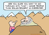 Cartoon: enlightenment overrated guru (small) by rmay tagged enlightenment,overrated,guru