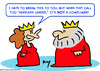 Cartoon: fearless leader king queen (small) by rmay tagged fearless,leader,king,queen