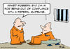 Cartoon: federal guideline prison cons (small) by rmay tagged federal,guideline,prison,cons
