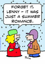 Cartoon: forget just summer romance snow (small) by rmay tagged forget,just,summer,romance,snow