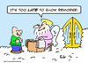Cartoon: heaven show remorse saint peter (small) by rmay tagged heaven,show,remorse,saint,peter