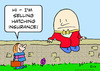 Cartoon: humpty dumpty hatching insurance (small) by rmay tagged humpty,dumpty,hatching,insurance