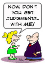 Cartoon: judgemental judge wife (small) by rmay tagged judgemental,judge,wife