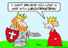 Cartoon: king liechentstein war (small) by rmay tagged king,liechentstein,war