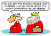 Cartoon: king queen summit conference las (small) by rmay tagged king,queen,summit,conference,las