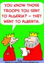 Cartoon: KING QUEEN TROOPS (small) by rmay tagged king,queen,troops