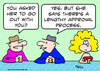 Cartoon: lengthy approval process (small) by rmay tagged lengthy,approval,process