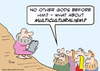 Cartoon: Moses multiculturalism (small) by rmay tagged moses,commandments,multiculturalism,god