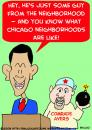 Cartoon: OBAMA BARACK AYERS WILLIAM (small) by rmay tagged obama,barack,ayers,william,terrorists,neighborhood,chicago